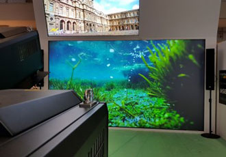 World´s first 8K 25,000 lumen DLP projector launched at ISE 2018