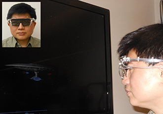 '4D goggles' allow wearers to be 'touched'