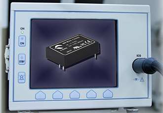 DC/DC converters two times MOPPs certified for medical applications