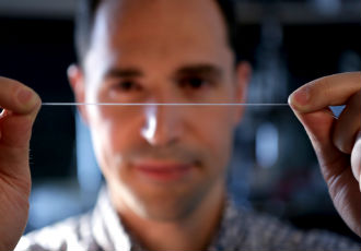Elastic fibre could revolutionise smart clothing