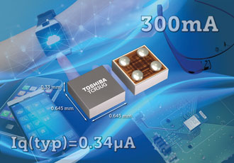 Small LDO regulator provides fast transient response