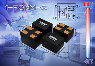 Latest line-up of high speed signal transmission photorelays