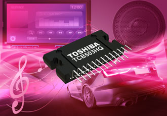 Power amplifier designed for automotive audio systems