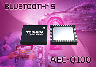 Highly expandable Bluetooth 5 IC for automotive applications