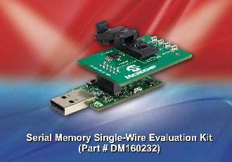 Win a Microchip serial memory single-wire EEPROM evaluation kit