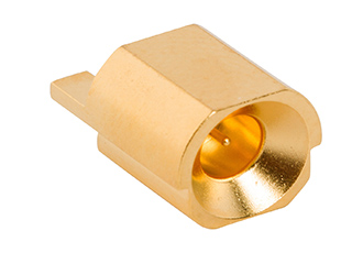 Board-to-board connector suitable for blindmating applications