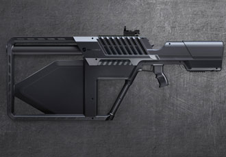 DroneGun Tactical product features an ergonomic body and controls