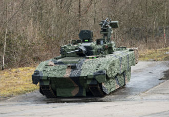 The latest conductive elastomer for use in military land vehicles