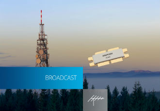 First Gen9HV transistor for UHF broadcast applications