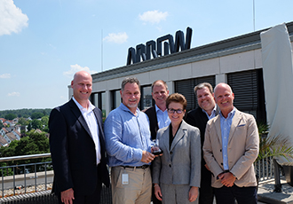 Arrow Electronics named distributor of the year by Amphenol