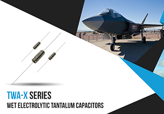 High-temperature wet electrolytic tantalum capacitor series launched