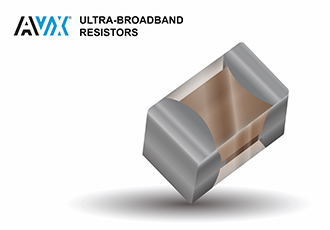 Ultra-broadband resistors feature a 125mW power rating