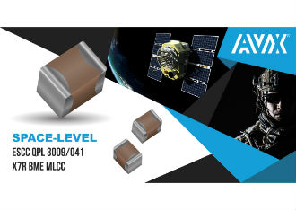 Space-level ESCC QPL 3009/041 X7R BME MLCCS