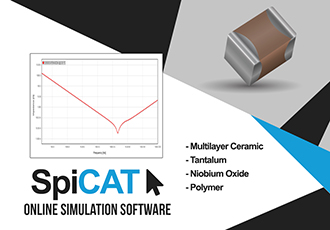 Interactive online simulation tool for capacitors