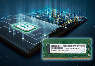 32-bit DDR4 SODIMM supports industrial embedded systems