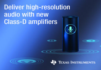 Class-D amplifiers solve smart-home audio design challenges