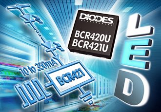 Constant-current LED drivers suitable for edge lighting