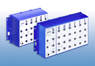 Managed IP67 switches enhanced with 120W PoE