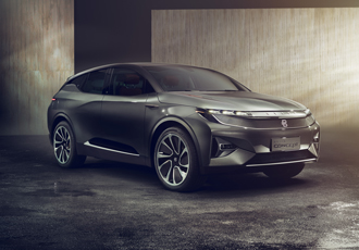 Electric intelligent SUV steals the show at CES 2018