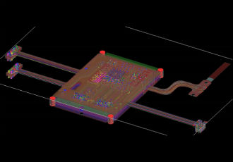 Accelerating PCB design cycles by integrating 3D design and 3D analysis