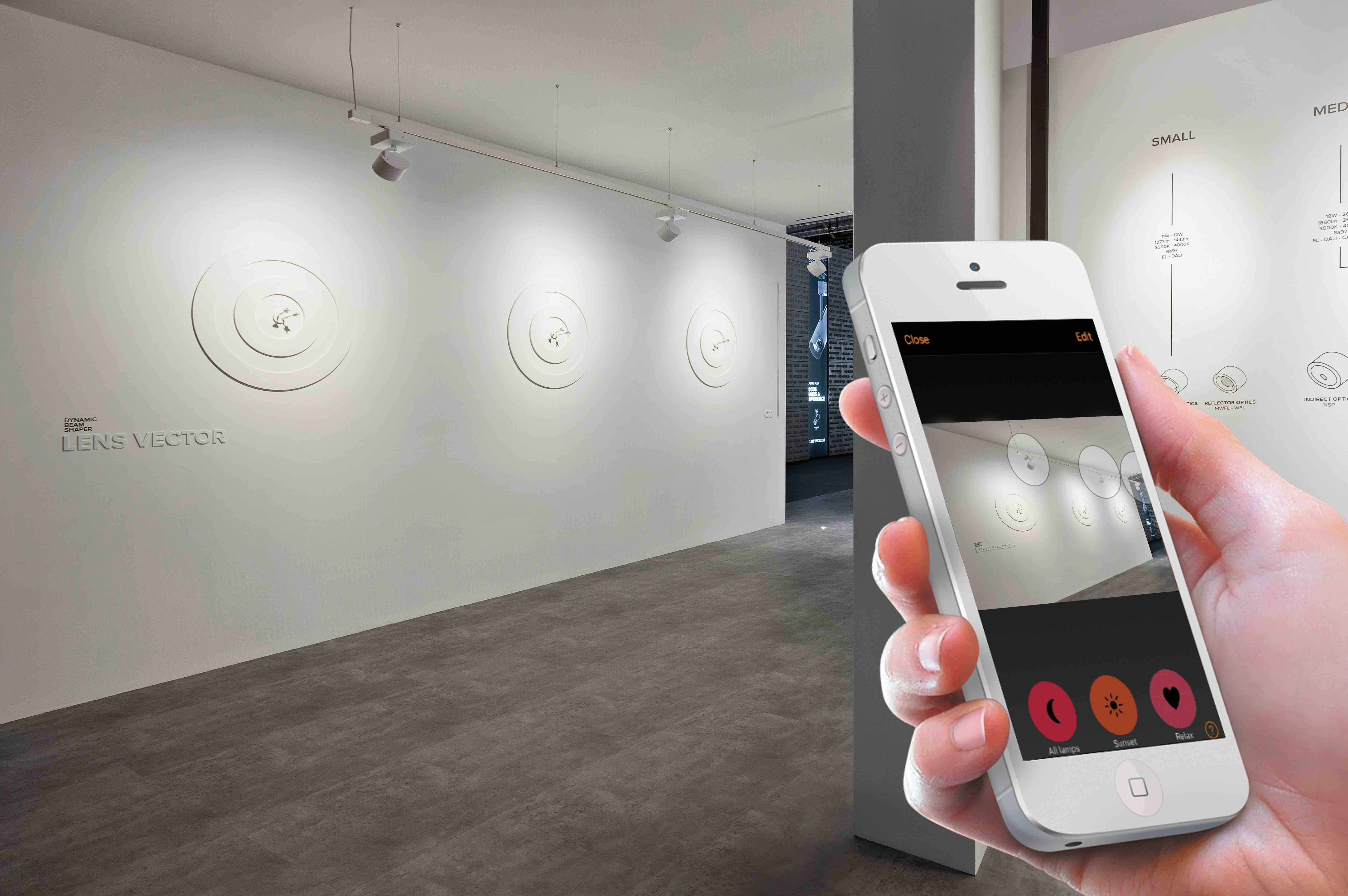 Upgrade to app brings easier commissioning of smart lighting