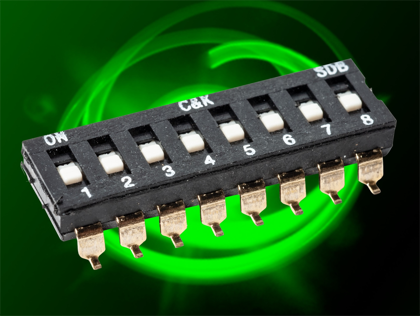 DIP switch provides low-cost option for logic and control application