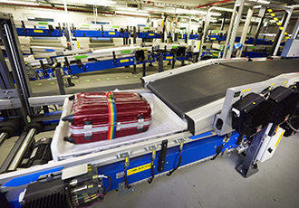 Baggage handling system at Paris airport handed over