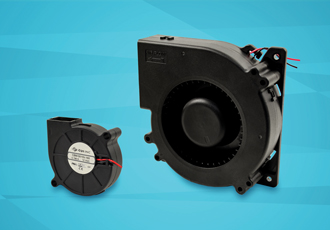 Centrifugal blowers suitable for high pressure applications