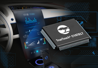 Touchscreen controller features next-gen infotainment systems
