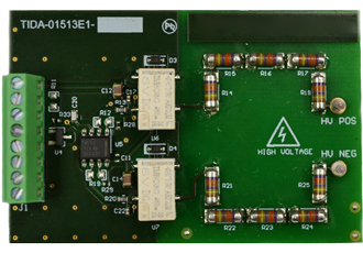 High voltage and isolation leakage measurements reference design