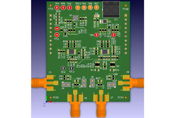 Reference design for microbolometer detectors in thermal cameras