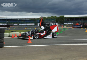 Student racing car winners go head-to-head in one-off Grand Prix race