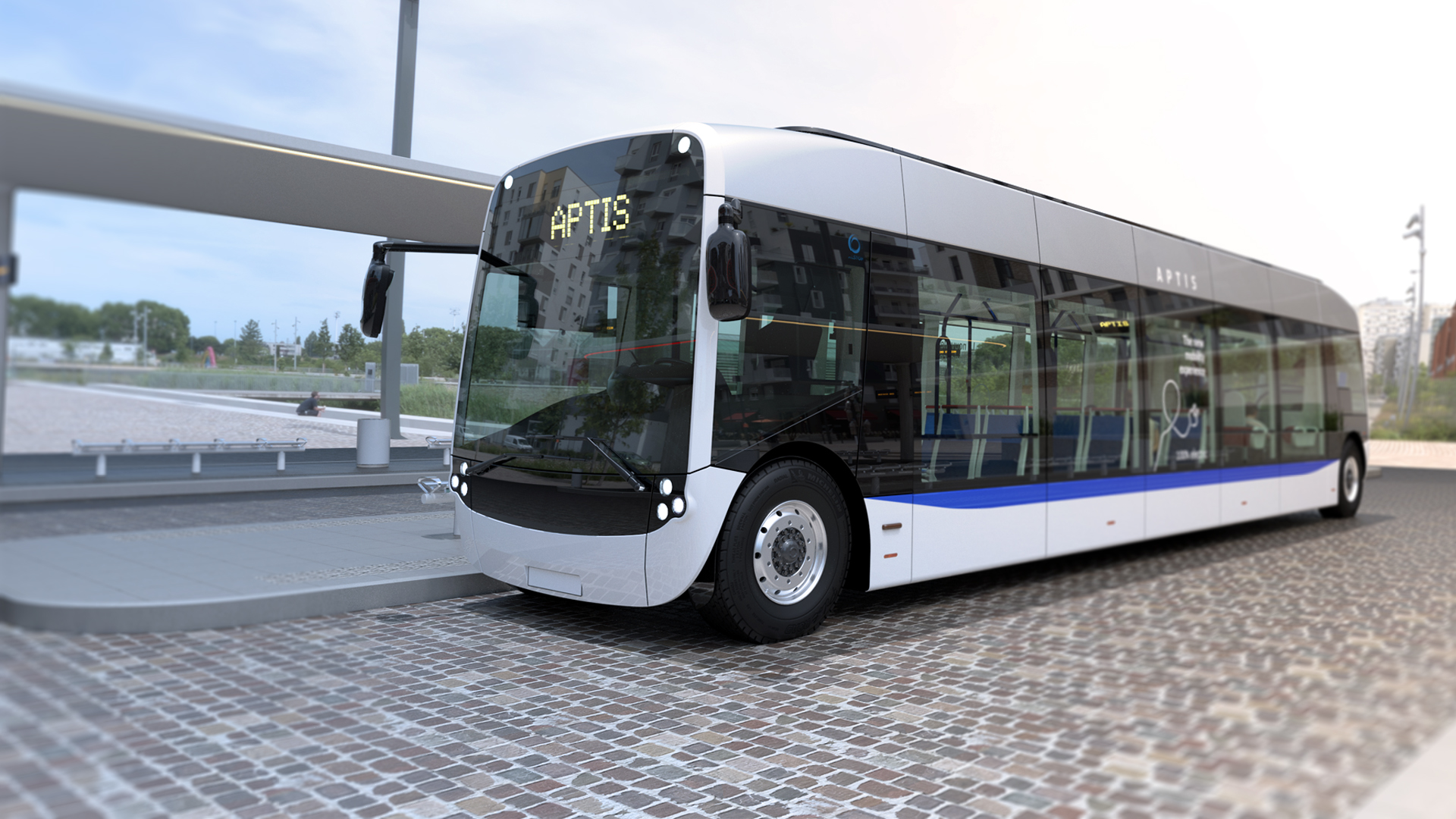 Collaboration to supply batteries for Aptis electric buses
