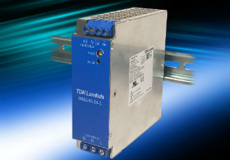 120W and 240W DIN rail power supplies are 93% efficient