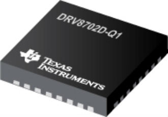 Automotive gate driver uses two external N-channel MOSFETs