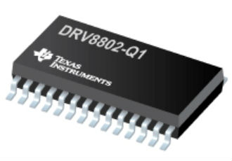 1.6A dual brushed DC motor driver with inrush protection