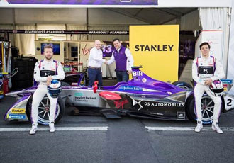 Stanley officially partnering DS Virgin racing Formula E team