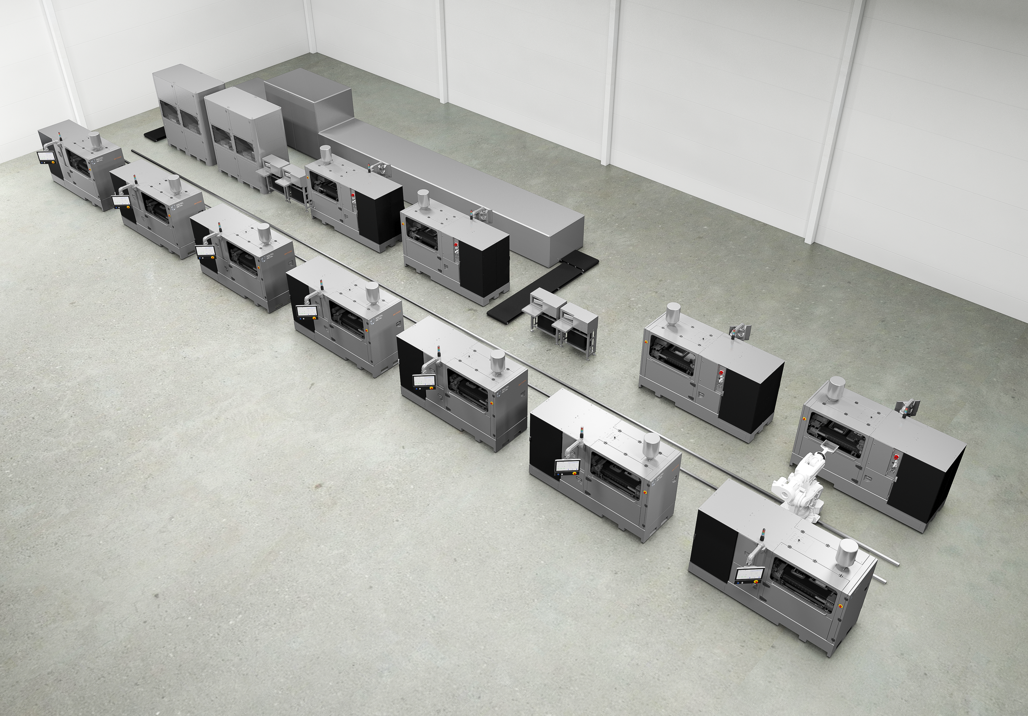 Digital Metal launches a no-hand production concept for 3D metal printing