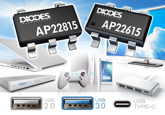 High-Side Power Switches for USB Ports and other hot-swap applications