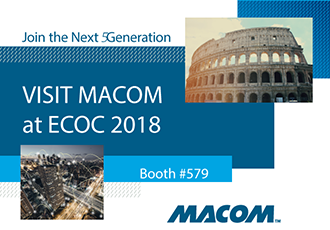 Smart solutions supporting 5G at ECOC 2018