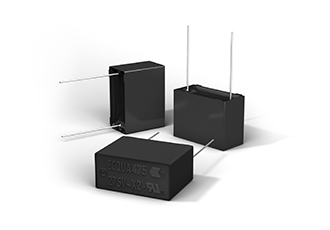 Film capacitors feature high safety and humidity resistance