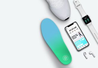 Combining science and sensor technology in a shoe insole