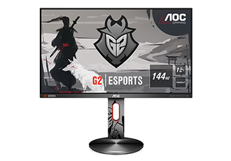 Gaming monitor with refresh rates up to 114Hz