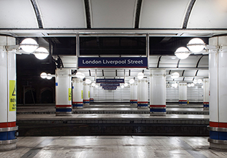 Lighting up for less at Network Rail's Liverpool Street Station