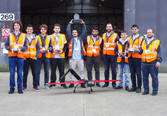 Istanbul Technical University students win UAS drone competition