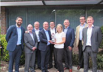 Strong commercial performance recognised with award