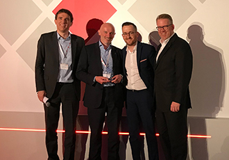 HARTING lands award at the Electrocomponents Supplier Summit
