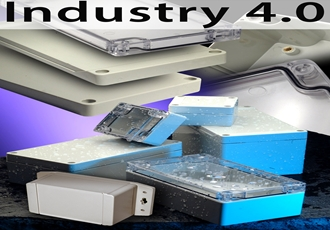 IP66 sealed polycarbonate and ABS enclosures for industrial applications