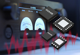 Industry's first power supply ICs for Hi-Fi audio