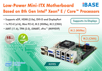 Low-Power Mini-ITX Motherboard